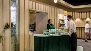 Starbucks pickup store interior