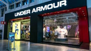 Under Armour storefront