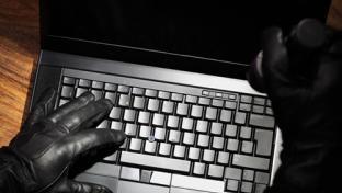 crime on laptop