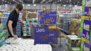 Jet e-commerce warehouse