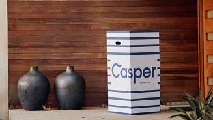 Casper delivery box