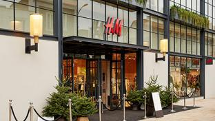 H&M storefront