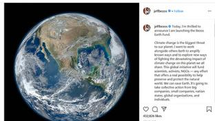 Bezos Instagram post