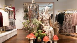 Diane von Furstenberg store interior