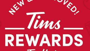 Tims Rewards graphic
