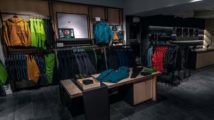 Arc'teryx store interior