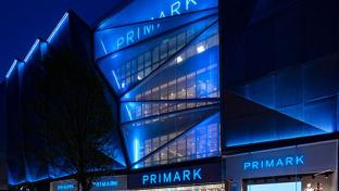 Primark exterior at night