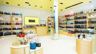 Rebag store interior