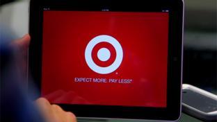 Target POS screen