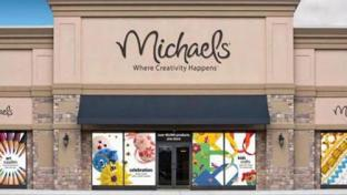 Michaels storefront