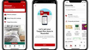 Target's mobile app