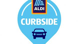 Aldi curbside graphic