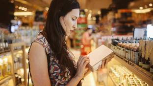 shopper browsing