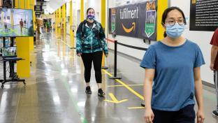 Amazon social distance solution