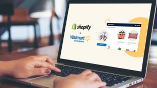 Walmart Shopify page
