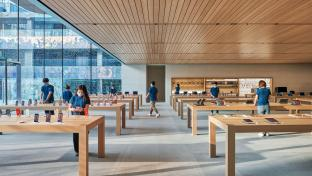 Apple Beijing flagship interior