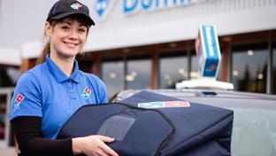dominos delivery person