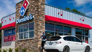 Dominos storefront