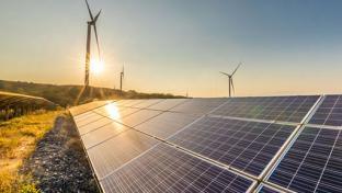 solar/wind installation