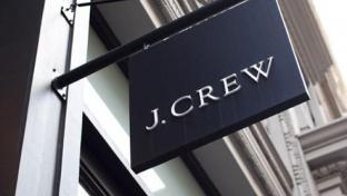 J. Crew sign