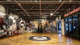 Footlocker basketball court