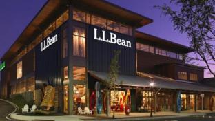 LL Bean storefront