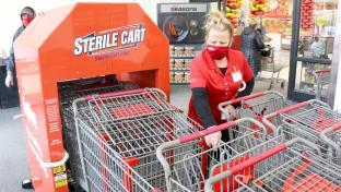 Hyvee sterile cart