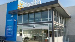 Walmart Health storefront