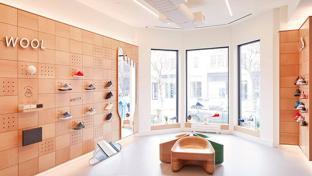allbirds store interior