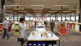 DSW store interior