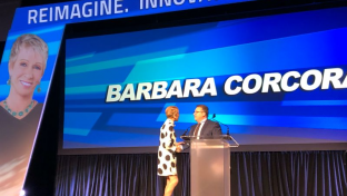 Gary Esposito with Barbara Corcoran