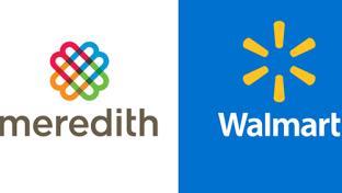 Meredith and walmart logos